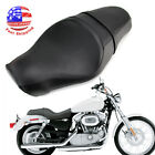 Driver &Passenger 2 UP Seat For Harley Sportster 1200 883 XL XR Custom 2005-2013