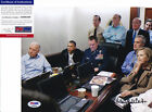 Hillary Clinton Signed Autograph Bin Laden War Situation Room Photo PSA DNA COA