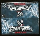 2011 Topps WWE Champion Wrestling FACTORY SEALED HOBBY BOX
