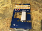 LEMAX HOLIDAY VILLAGE POWER ADAPTER 4.5V. WHITE-1 Outlet