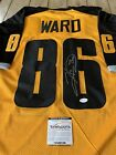 Hines Ward Autographed Signed Jersey TSE COA Pittsburgh Steelers Gotham Rogues