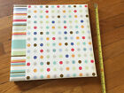 Echo Brand Dots  Stripes Photo Safe Magnetic Page Album NWD 13 By 135