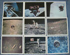 Vintage Original OFFICIAL NASA PICTURE LOT OF 8 Lithographs Color 8X10 Pictures