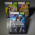 XBox 360 Kinect games Kinect Adventures Michael Jackson Exp The Biggest Loser