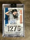 Topps Luminaries 2019 Buster Posey Auto Jersey Relic 3 10, SF Giants, Hit Kings