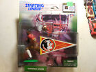 Starting Lineup Warrick Dunn 1999 Florida State University Action Figure FREE SH