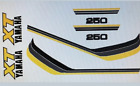 YAMAHA XT250 RESTORATION DECAL SET