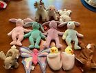 Ty Beanie Babies Lot *12* Hippity, Hoppity, Floppity, Hippie and more