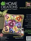Alice Peterson Home Creations Needlepoint Pillow Top Kit - Pansies Galore