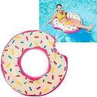 NEW Intex Donut Inflatable Tube 42 X 39 + Free Intex Repair Patches