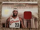 Lebron James 09-10 Court Kings Supreme Court Game Used Jersey Card #59 99 RARE