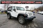 2014 Jeep Wrangler Rubicon 2014 Jeep Wrangler Rubicon 30,100 Miles Bright White Clearcoat 2D Sport Utility