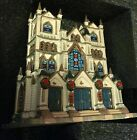 Lemax Coventry Cove Lighted Village Mark's Cathedral House Collection 2004