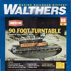 HO Scale Walthers Cornerstone 933 3171 90 Turntable Kit