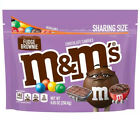NEW! Fudge Brownie Flavor M&M's Sharing Size Chocolate 9oz Resealable