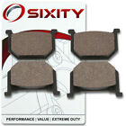 Front Ceramic Brake Pads 1985-1986 Suzuki GV1200 Madura Set Full Kit GLF ir