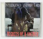 INTELLIGENCE NEVAH FAILS - DEGREES OF A SOLDIER CD 1999 HIP HOP G-FUNK RARE