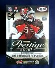 2015 Panini Prestige NFL Football Factory Sealed Blaster Box 64 Cards Inside!