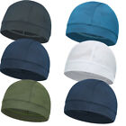 Unisex Skull Cap Quick Dry Sports Sweat Beanie Hat Great Cycling Dome Cap New