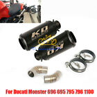 Motorcycle Exhaust Tip Muffler Mid Pipe for Ducati Monster 696 695 796 795 1100