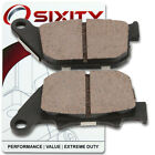 Rear Organic Brake Pads 2007-2011 Harley Davidson XL1200L Sportster 1200 Low gq