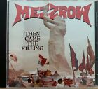 Mezzrow - Then Came The Killing CD Thrash Metal Active Records 1st pressing
