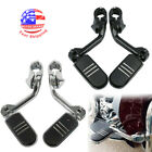 Highway Foot Pegs For Harley Road King Street Glide 1.25