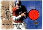 John Elway 2000 UD Game Jersey Greats Autograph Patch