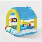 Baby Cabana Play Pool Inflatable Sun Squad Shaded Baby Pool Kid NEW Fast Ship