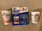 Mike Schmidt LOT Starting Lineup 1988 SLU Kenner 1980 & 1981 Phillies 7-11 Cups