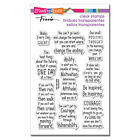 Stampendous COURAGE QUOTES Perfectly Clear Stamp Set Words Sentiments 2020
