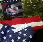 Commercial Grade Valley Forge Cotton American Flag 3ft x 5ft