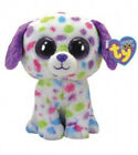 """Darling the dog 6"""" ty beanie boo with tag justice exclusive (rare)"""