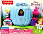 1 Ct Fisher Price Little People Disney Princess Cinderellas Fold N Go Carriage