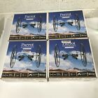 4 New Sealed Parrot Rolling Spider Minidrone blue
