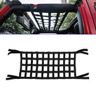 For Jeep Wrangler JK TJ Cargo Net Back Window Extra Storage Roof Net Hammock New