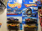 Hot Wheels Ford Mustang Mach 1 LOT 4 1970 1971 HW CITY MUSTANG 50TH FREE SHIP