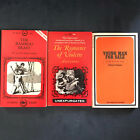 vintage sleaze paperbacks 3 books scarce titles great condition
