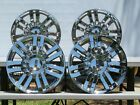 4 CHROME FACTORY LINCOLN NAVIGATOR WHEELS RIMS 20X 85 P N 7L741007KB OEM