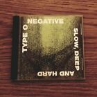 Type O Negative Slow, Deep and Hard  (CD,1991, Roadrunner Records)