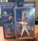 Starting Lineup Mark McGwire 1998 Edition Action Figure + Baseball Card...