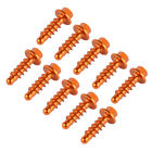 10PCS CNC Universal Fairing Bolts Self-tapping Screws Kit For KTM SX SXF XCF EXC