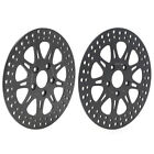 F&R Brake Discs Rotors for Dyna Low Wide Rider Super Glide Softail Heritage 1340