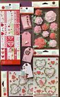 NEW Martha Stewart Scrapbook Bundle STICKERS TAGS +12 Sheets of BORDERS DEAL