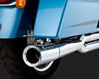 Vance  Hines Pro Pipe Exhaust System Chrome for Harley Street Glide 2010 2016