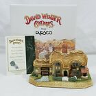 David Winter Fair Well Cottage 2002 D1208 Signed Original Box COA RARE