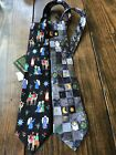 AMERICAN GREETINGS Collection Necktie Tie Nativity Christmas Tree Silk Lot NWT