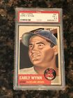 1953 Topps Early Wynn Cleveland Indians #61 Baseball Card PSA 5.5