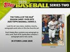 2020 Topps Series 2 Baseball Hobby Box with 1 Silver Pack