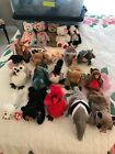 Lot of 20 Ty Beanie Babies Bears plus Others No duplicates MWMT New